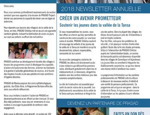 Newsletter annuelle 2018